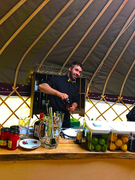 The Nomadic Yurt Bar 'Cocktail Maker'