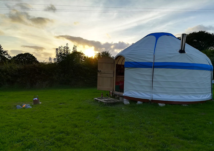 16ft steam-bent Ash yurt