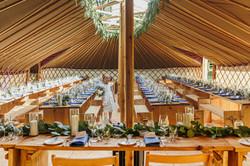 The Top Table - Wedding Yurt Hire