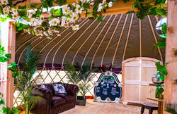 Wedding decor - Silk Apple Blossom garlands