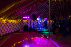 Dance Floor Hire & Stage Hire with Event Lighting