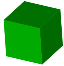 Coreform Cubit 예제 7 - Cubit에서 형상의 넓이 및 부피 확인하기
