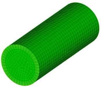 Coreform Cubit 예제 8 - 경계층 격자 생성하기