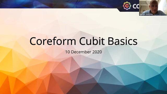 Coreform Cubit Basic Webinar