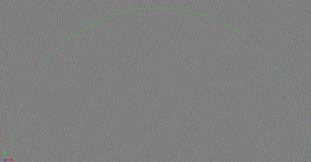 Coreform Cubit 예제 10 - 형상의 곡선을 부드럽게 표현하기