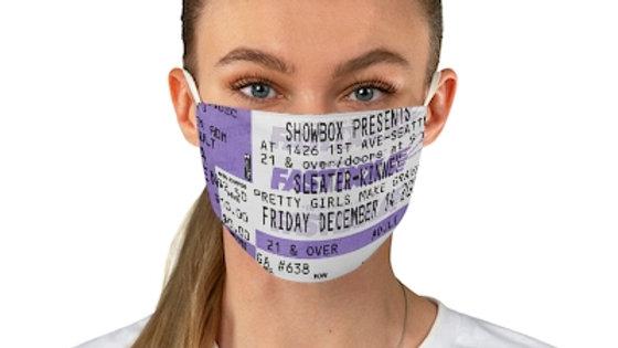 Sleater-Kinney Concert Ticket Face Mask