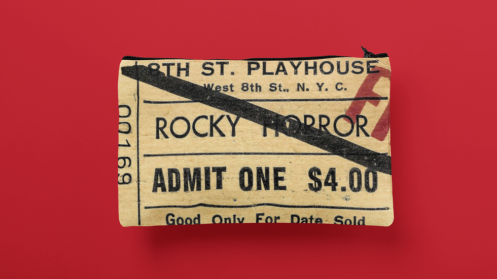 Rocky Horror Accessory Pouch
