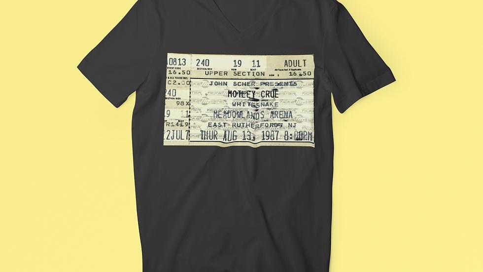 Motley Crue Concert  Men's Tri-Blend Crew Tee