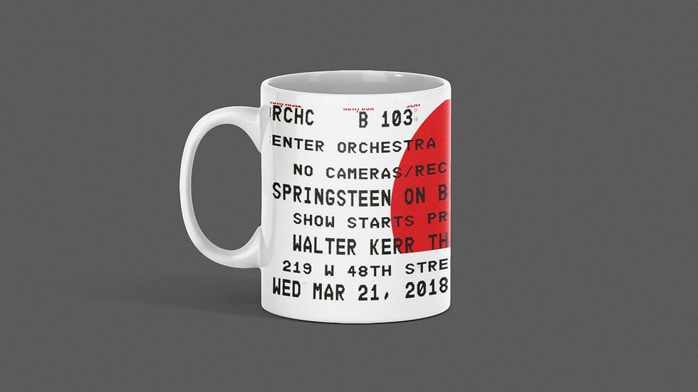 Springsteen on Broadway Concert Mug