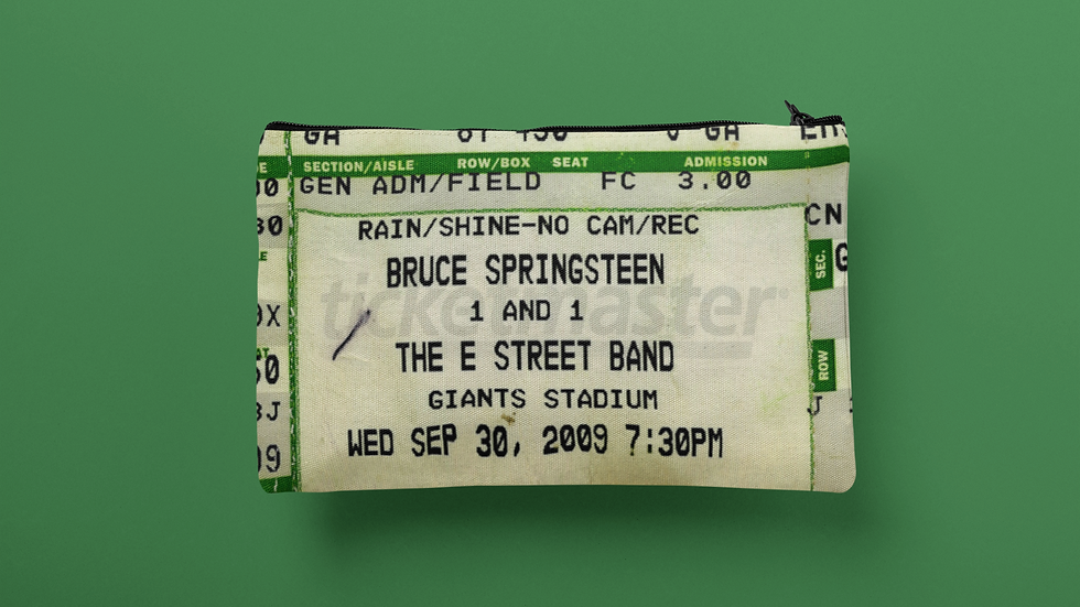 Bruce Springsteen 2009 Accessory Pouch
