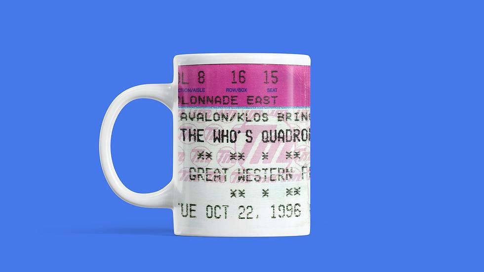 The Who's Quadrophenia Concert Mug