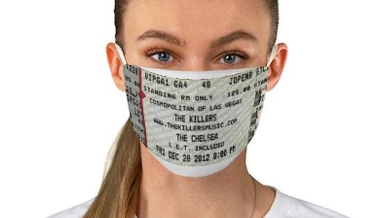 Killers 2012 Concert Ticket Face Mask