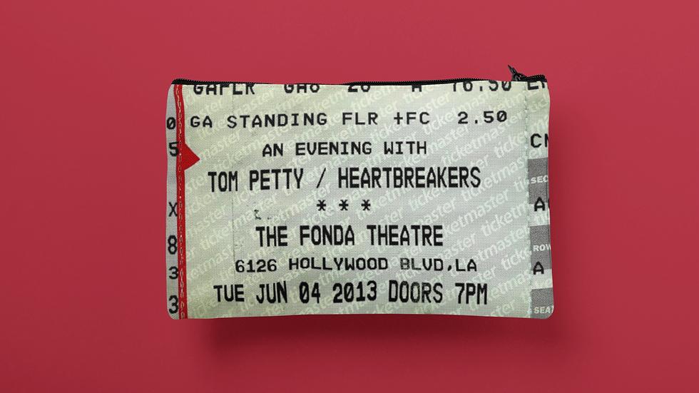 Tom Petty 2013 Accessory Pouch