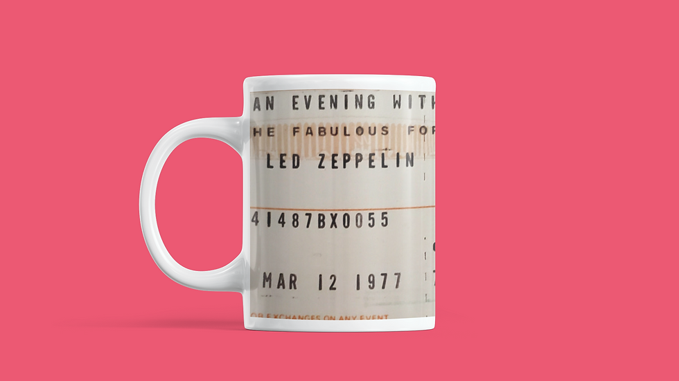 Led Zeppelin 1977 Mug 11oz