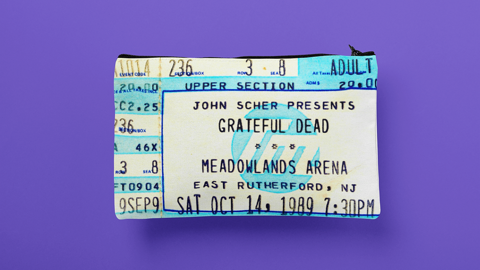 Grateful Dead 1989 Accessory Pouch
