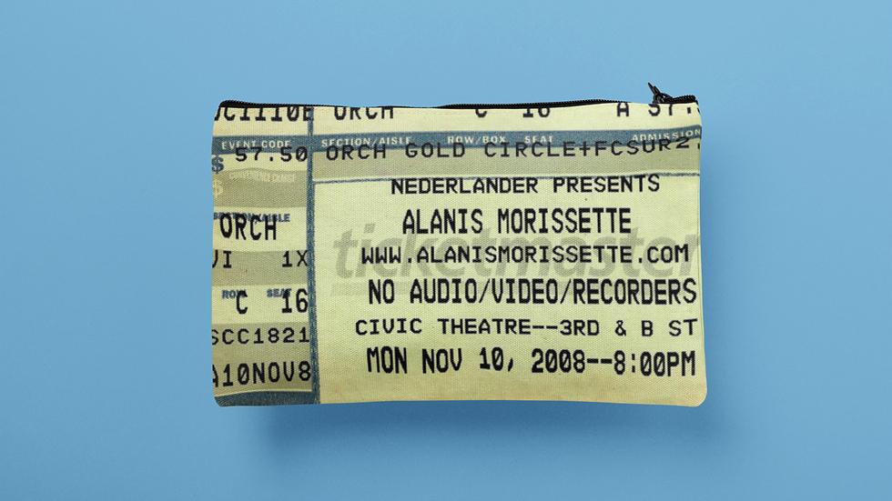 Alanis Morissette Accessory Pouch
