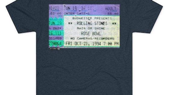 Rolling Stones Concert Men's Tri-Blend Crew Tee