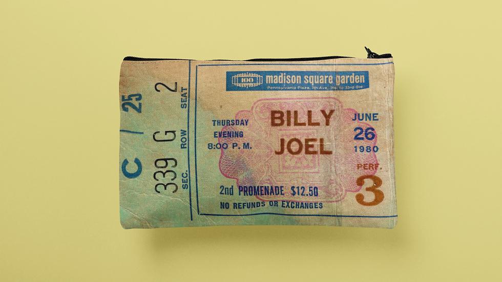 Billy Joel 1980 Accessory Pouch