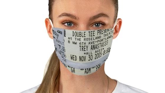 Trey Anastasio Concert Ticket Face Mask