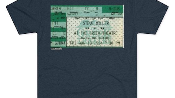 Steve Miller 1994 Concert Men's Tri-Blend Crew Tee