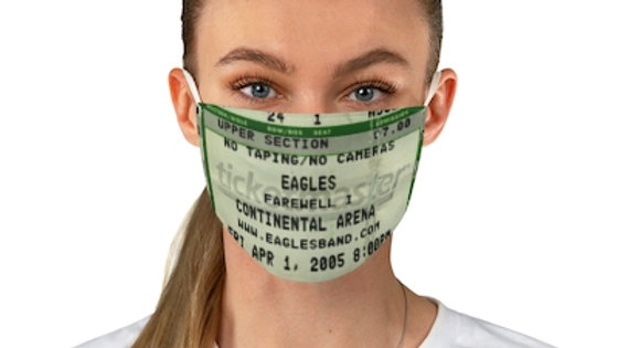 The Eagles 2005 Concert Fabric Face Mask