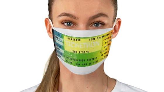 The B-52's Concert Ticket Face Mask