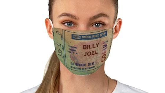 Billy Joel 1980 Fabric Face Mask