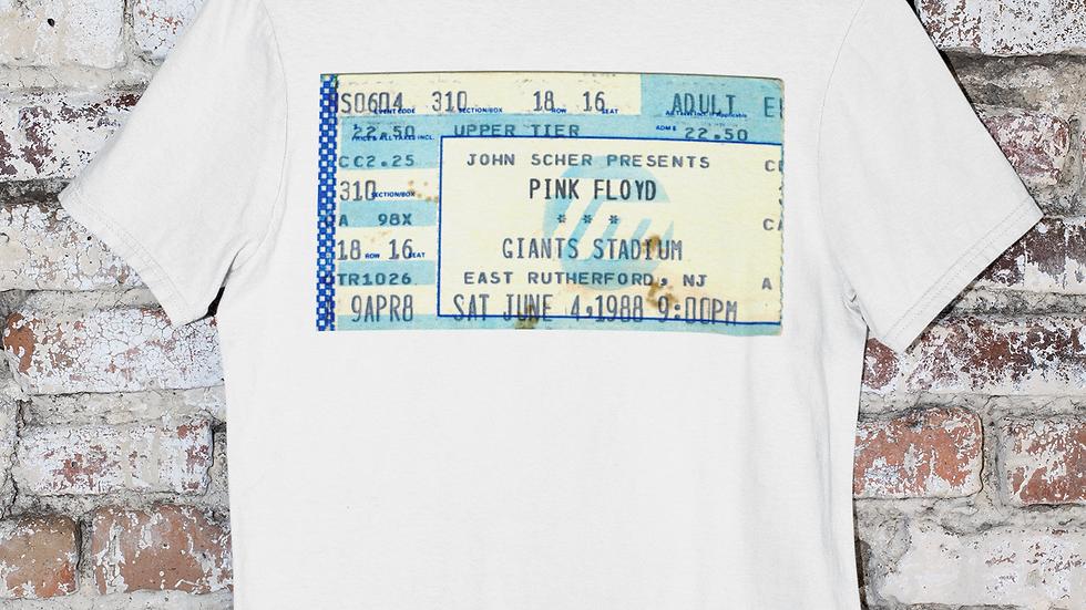 Pink Floyd Concert Ticket Men's Trip-Blend Crew Tee