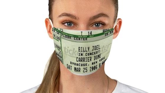 Billy Joel 2006 Concert Ticket Face Mask