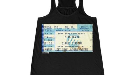 Pink Floyd Concert Women's Flowy Racerback Tank