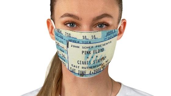 Pink Floyd Concert Ticket Face Mask