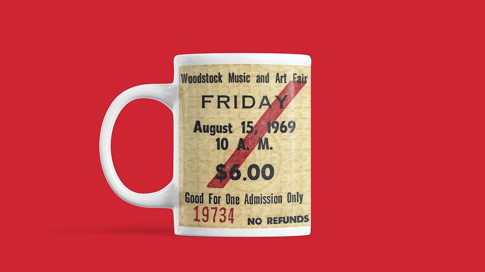 Woodstock Concert Mug