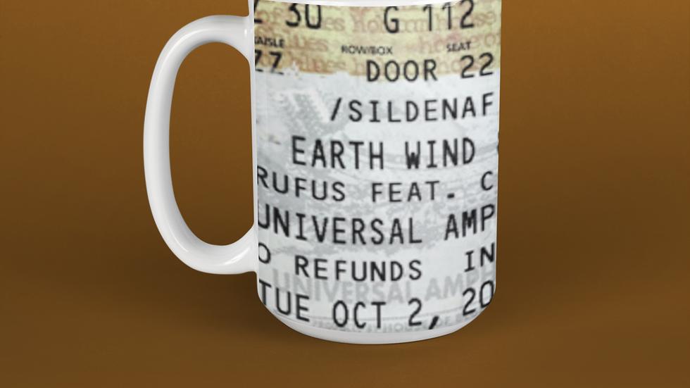 Earth, Wind and Fire Stub Ceramic Mug 11oz
