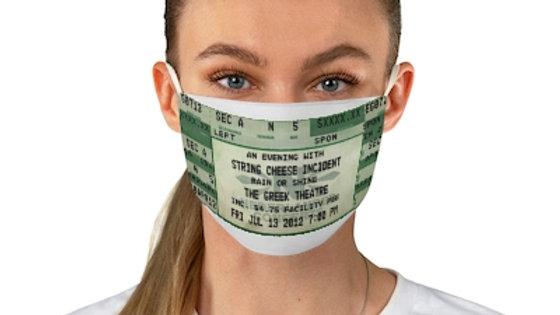 String C Concert Ticket Face Mask