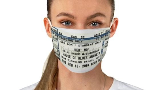 Keb' 2004 Concert Ticket Face Mask