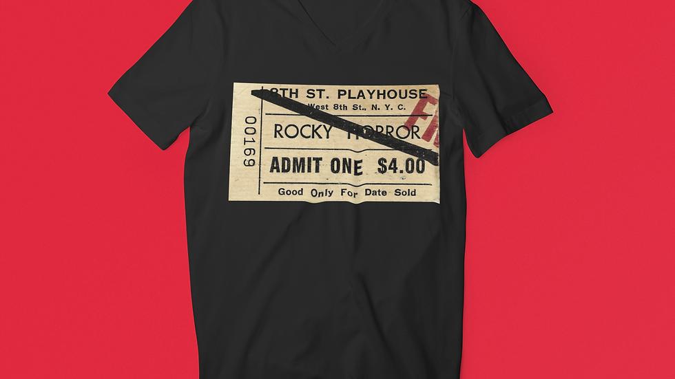 Rocky Horror Show Unisex Jersey V-Neck Tee