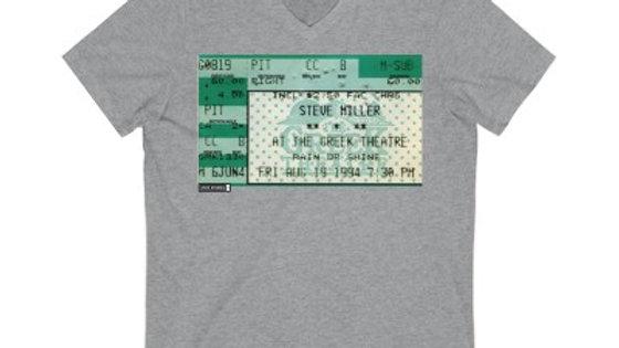 Steve Miller Concert 1994 Unisex Jersey Short Sleeve V-Neck Tee