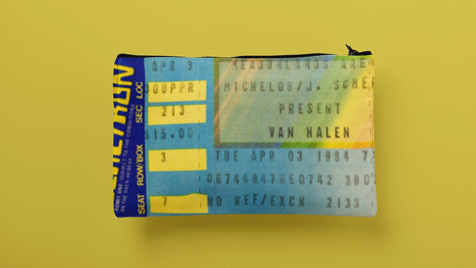 Van Halen 1984 Accessory Pouch