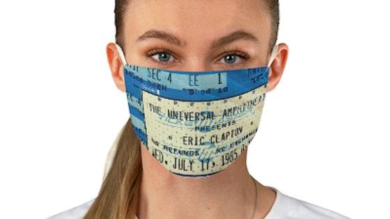 Eric Clapton Concert Ticket Face Mask