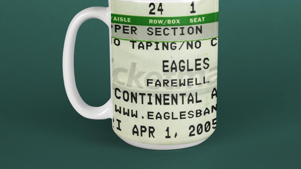 The Eagles 2005 Concert Ceramic Mug 11oz