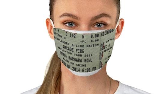 Arcade Fire Concert Ticket Face Mask