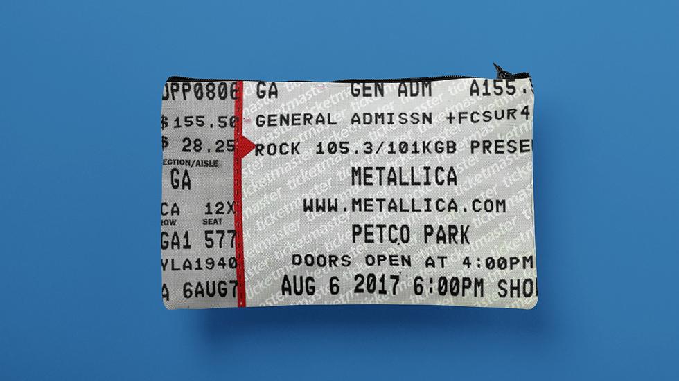 Metallica Accessory Pouch