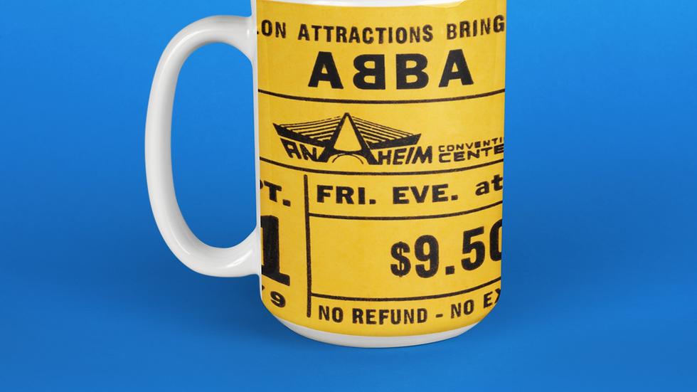 ABBA 1979 Ceramic Mug 11oz