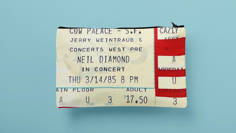 Neil Diamond Accessory Pouch