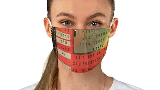 Jethro Concert Ticket Face Mask