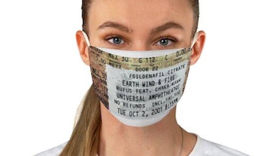 Earth, Wind and Fire Fabric Face Mask