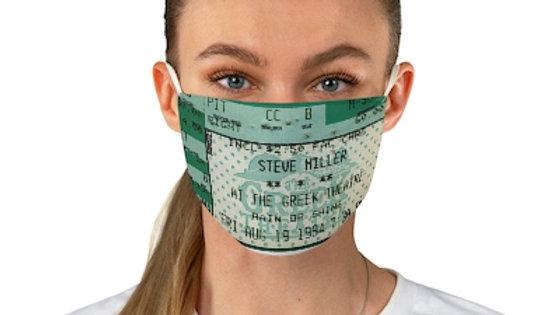 Steve Miller 1994 Concert Ticket Face Mask