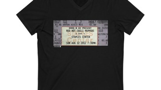 Red Hot Chili Peppers Concert Unisex Jersey V-Neck Tee