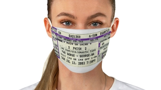 Phish Concert Ticket Face Mask