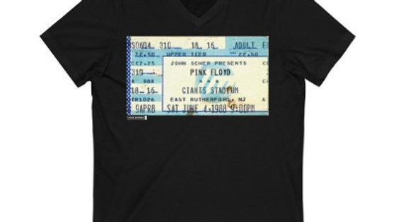 Pink Floyd Concert Unisex Jersey V-Neck Tee